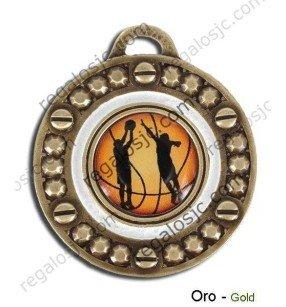 Medallas Basket de 55 mm